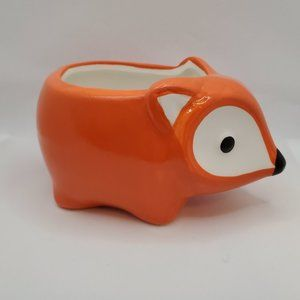 Other - Ceramic Animal Planter, Flora the Fox 5""